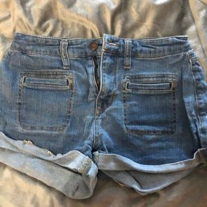 Mossimo High rise shorts - never worn